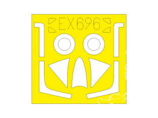 Eduard Express Mask EX696 Hunter F.4 / F.5 Airfix 1/48