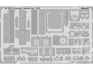 EDUARD photodecoupe avion 481015 Set amélioration Lysander Eduard 1/48