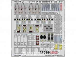 EDUARD photodecoupe avion FE1088 Harnais métal EA-6B Kinetic 1/48