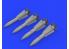 Eduard kit d'amelioration brassin 632148 Armement AIM-54C Phoenix 1/32