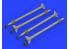 Eduard kit d'amelioration brassin 632153 Armement AIM-9X 1/32
