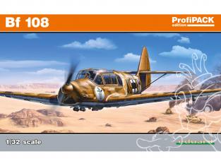 EDUARD maquette avion 3006 Messerschmitt Bf 108 ProfiPack Edition 1/32