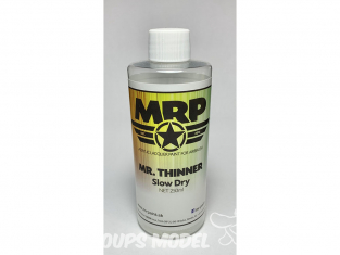 MRP peintures TSD Mr Thinner slow dry (séchage lent) 250ml