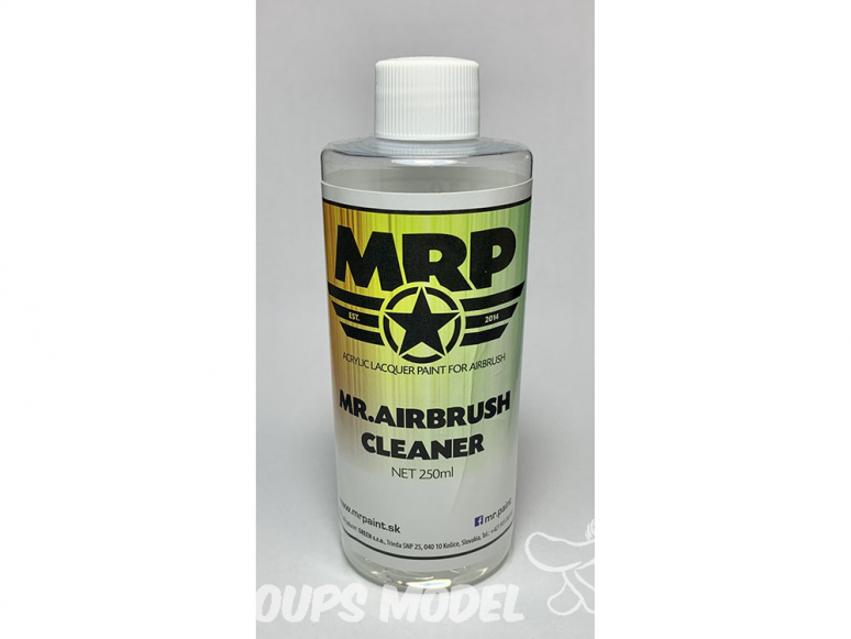 MRP peintures C Mr Airbrush Cleaner Netoyant 250ml
