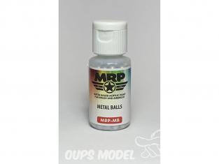 MRP Peintures MB Billes metal pour melanger peintures environs 250 piéces