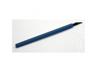 MRP peintures SC2 Pointe a graver MR.SCRIBER en V manche bleu