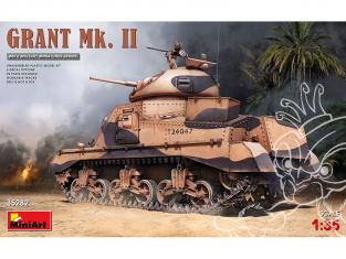 Mini Art maquette militaire 35282 GRANT Mk. II 1/35