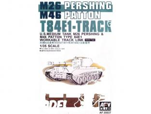 AFV maquette militaire 35037 CHENILLES T84E1 1/35
