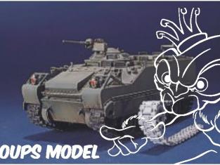 AFV maquette militaire 35S10 CHENILLES ARTICULEES 1/35