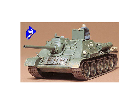 tamiya maquette militaire 35072 Russian SU85 1/35