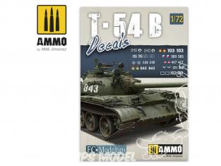 MIG Accessoires 8062 Décalques T-54B 1/72
