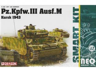 Dragon maquette militaire 6521 Pz.Kpfw.III Ausf.M Kursk 1943 1/35