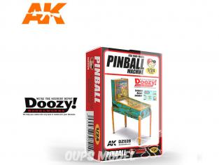 Ak Interactive Doozy DZ028 Flipper USA 1940 - 1950's 1/24