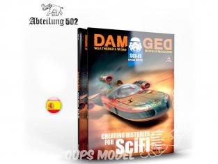 ABTEILUNG502 magazine 733 Damaged Special Edition Sci-Fi en Espagnol
