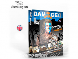 ABTEILUNG502 magazine 734 Damaged Numéro 9 Camera and Action en Anglais