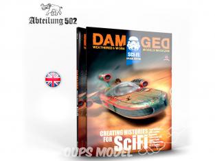 ABTEILUNG502 magazine 732 Damaged Special Edition Sci-Fi en Anglais