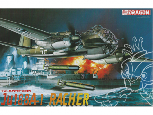 Dragon maquette avion 5517 Ju 188A-1 Racher 1/48
