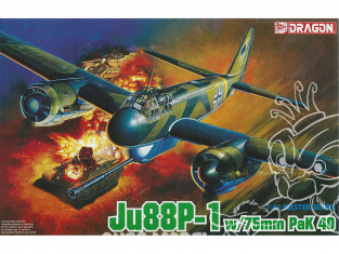 Dragon maquette avion 5543 Ju 188A-1 Racher 1/48
