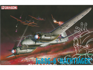 Dragon maquette avion 5509 Ju88G-6 Nachtjager 1/48