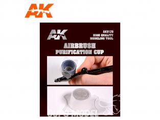 AK interactive aérographe ak9129 Filtre pour godet aérographe