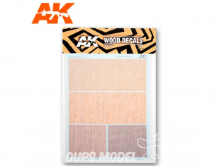 AK interactive ak9084 Décalques bois 1/72