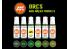 Ak interactive peinture acrylique 3G Set AK11600 Orcs et modèles vert 6 x 17ml