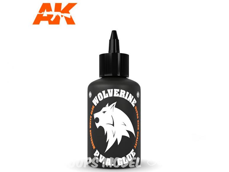 AK interactive AK12014 Wolverine Colle P.V.A. 100ml