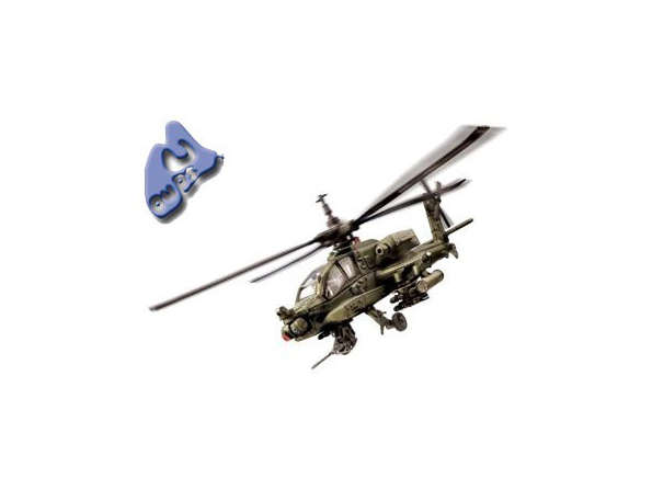 Force of Valor miniature helico 80008 UH-64A Apache 1/48
