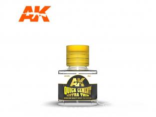 AK interactive ak12001 Colle extra fluide rapide 40ml