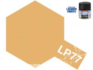 Peinture laque couleur Tamiya LP-77 BRUN CLAIR (DAK 1941) 10ml