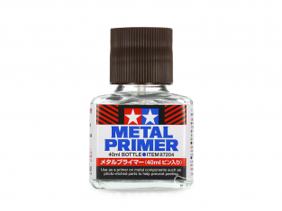 tamiya 87204 Apprêt pour métal pot de 40ml