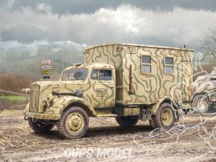 Italeri maquette militaire 6575 CAMION RADIO OPEL BLITZ 1/35