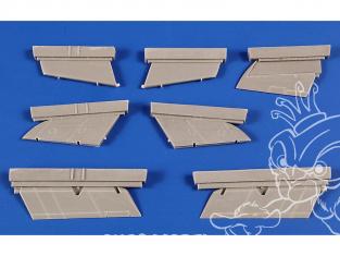 Cmk kit d'amelioration 7440 Surfaces de contrôle Supermarine Swift 1/72