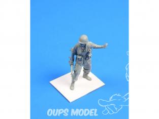 """CMK figurine f35244 US Marines Sergent """"Hue City"""" Vietnam 1/35"""