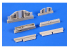 Cmk kit d'amelioration 7436 Ensemble de train de roulement A-4B / Q Skyhawk Kit Airfix 1/72