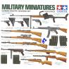 tamiya maquette militaire 35111 armement infanterie Allemande 1/