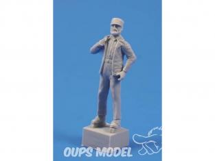CMK figurine f35242 Leader CUBAIN 1/35