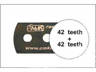 CMK outillage h1002 LAME DE SCIE très fine (des deux côtés) 1piéce