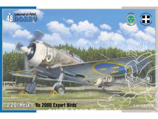 Special Hobby maquette avion 48208 Reggiane Re.2000 J-20/Héja I 'Re 2000 Export Birds' 1/48