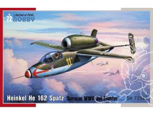 Special Hobby maquette avion 72341 Heinkel He 162 Spatz 1/72