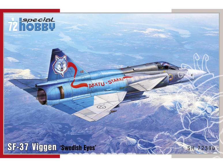 Special Hobby maquette avion 72390 SF-37 Viggen Recce 1/72