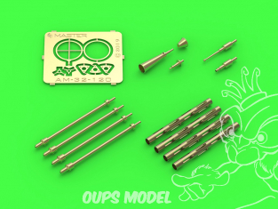 Master Model AM-32-120 PZL P.11C detail set pour kit IBG Model 1/32