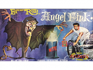 Atlantis maquette H1307 Ed Big Daddy Roth Angel Fink Witch