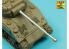 Aber 48L15 Canon de char pour British Sherma VC kit tamiya 1/48