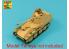 Aber 35L05N Fut de canon allemand 7,5cm avec frein de bouche pour Pak 40/3 - Marder III, Ausf.M kit Tamiya 1/35