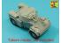 Aber 35L273 Armement pour véhicule blindé léger français AML-60-20, barils pour canon automatique et mortier 1/35