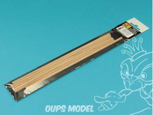 Aber accessoire WR5 Tiges rondes en bois Ø 5 mm longueur 245 mm x 6 pcs.