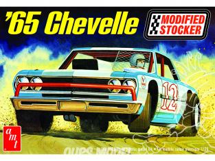 AMT maquette voiture 1177 Chevelle 1965 Modifiée Stocker 1/25