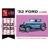 AMT maquette voiture 1181 1932 Ford Scale Stars 1/32