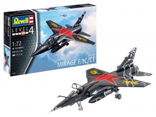 Revell maquette avion 64971 Model Set Dassault Mirage F-1 C / CT 1/72